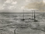 Apparatus to Supplement Sunlight in Making Undersea Autochromes Photographic Print by Charles Martin