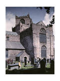 View of St. Mary's Church in Cartmel Begun by the Earl of Pembroke Photographic Print by Clifton R. Adams
