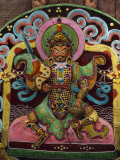 This Butter Sculpture Portrays Drapukolo, the Tibetan God of Wealth Photographic Print by Dr. Joseph F. Rock
