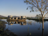 Abandoned Houseboat in the Pantanal of Western Brazil Photographic Print by Scott Warren