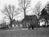 View of Cross Manor, the Oldest House in Maryland Photographic Print by Dr. Gilbert H. Grosvenor