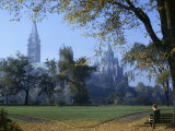 Gothic Parliament Building Towers over an Ottawa Park Photographic Print by W. Robert Moore