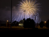 Fireworks over Beaver Stadium, Pennsylvania Photographic Print by Stacy Gold