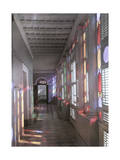 Colorful Hallway in Casa Blanca, the Puerto Rican Governor's Palace Photographic Print by Charles Martin