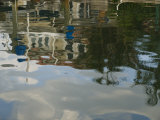 Reflections of Houses Permeate the Water Photographic Print by Stacy Gold