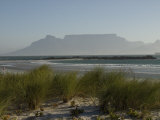 View of Table Mountain from Big Bay, South Africa Photographic Print by Stacy Gold