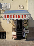 Internet Sign and Shop in Zacatecas, Mexico Photographic Print by Eightfish
