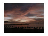 View of the California Coast at Sunrise Photographic Print by Franklin Price Knott