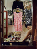 Tailor Inside His Shop, Irons Clothing Photographic Print by  xPacifica