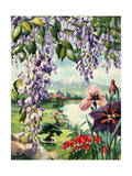 Portrait of Wildflowers Native to Japan Giclee Print by Else Bostelmann