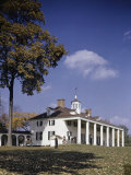 Autumn View of Mount Vernon on a Clear Day Photographic Print by B. Anthony Stewart