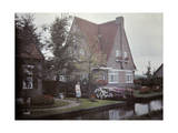 Landscaped Gardens of Aalsmeer are Surrounded by Deep Canals Photographic Print by Wilhelm Tobien