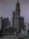 Sixty-Story Woolworth Building in New York's Skyline Stands Tall Photographic Print
