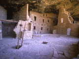 Ancient Anasazi Dwelling in Mesa Verde National Monument Photographic Print by Greg Dale