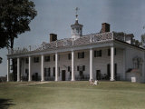 Great Piazza on the Mount Vernon Estate Faces the Potomac River Photographic Print by Clifton R. Adams