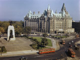 Chateau Laurier Is the Focal Point of Confederation Square Photographic Print by Jack Fletcher