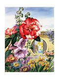 Portrait of Flowers Native to China Giclee Print by Else Bostelmann