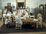 Children Play in a Day Nursery at a Textile Mill Photographic Print by Joseph Baylor Roberts