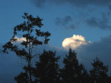 Large Clouds Fill the Sky Above the White River National Forest Photographic Print by Charles Kogod