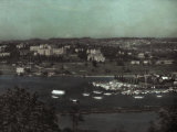 View of University of Washington Campus from Seattle's Capitol Hill Photographic Print by Asahel Curtis
