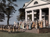 Reenactment of the Revolutionary War in Monticello Photographic Print by Charles Martin
