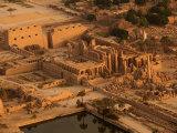 Karnak Temple at Sunrise Photographic Print by Kenneth Garrett