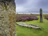Scenic View of the Ring of Brodgar, a Neolithic Stone Circle Photographic Print by Jim Richardson