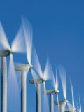 Turbines Funnel Wind from the Columbia River Gorge Photographic Print by Mark Thiessen