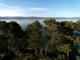 View of Lake Trasimeno from the Castello Del Leone Photographic Print by  xPacifica
