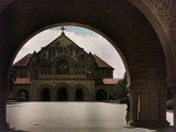 View of the Stanford Memorial Chapel in Palo Alto Photographic Print by Charles Martin