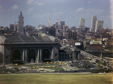 High Angle View of Kansas City's Union Station and Skyline Photographic Print by Richard Hewitt Stewart