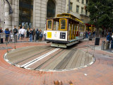 Famous Trolley in San Francisco, California Photographic Print by Stacy Gold