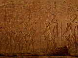 Relief on the Red Chapel of Hatshepsut and Her Husband, Thutmosis Ii Photographic Print by Kenneth Garrett