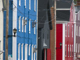 Waterfront Buildings are Colorful So Boatmen Can Spot their Wharf Photographic Print by Scott Warren