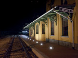 Gettysburg Train Station at Night Photographic Print by Greg Dale