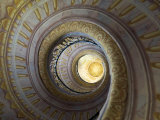 Painted Stairway, Diminishing Perspective, Melk Abbey Photographic Print by  Keenpress