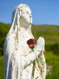 Close-up Madonna Figure at the Celtic Christian Church of Kilmakader Photographic Print by Keenpress 