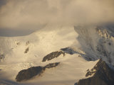 Clouds over Mountain at Dawn in the Gerlache Strait Photographic Print by  Keenpress