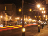 Downtown Main Street of Liberal, Kansas Sports New Streetlights Photographic Print by Jim Richardson