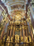 Interior of the Melk Abbey, Selective Focus Photographic Print by  Keenpress