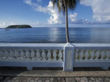 Waterfront at Esperanza on Vieques Island, Puerto Rico Photographic Print by Scott Warren