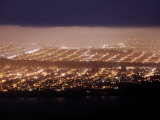 San Francisco at Night, from the Marin Headlands Photographic Print by Jim Richardson