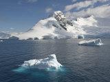 Small Iceberg on Foreground, Gerlache Strait, Antarctic Peninsula Photographic Print by  Keenpress