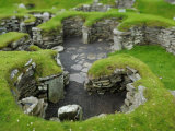 Jarlshof Is a Noted Archeological Site on the South Tip of Shetland Photographic Print by Jim Richardson