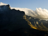 Scenic Mountains with Low-Hanging Clouds Photographic Print by Mattias Klum