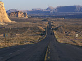 Scenic Highway Leading into Utah Near Page, Arizona Photographic Print by Scott Warren