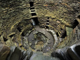 Looking Down Inside Mousa Broch Photographic Print by Jim Richardson