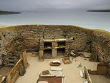 Skara Brae, an Ancient Neolithic Village Photographic Print by Jim Richardson
