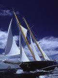 Sailboats on a Windy Day Fotografisk trykk av Michael Melford