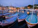 Boats Moored in the Harbor of Cassis Photographic Print by Michael Melford